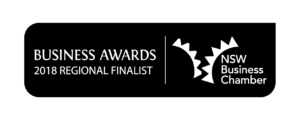 Finalist 2018 NSW Business Chamber Northern Rivers Regional Award